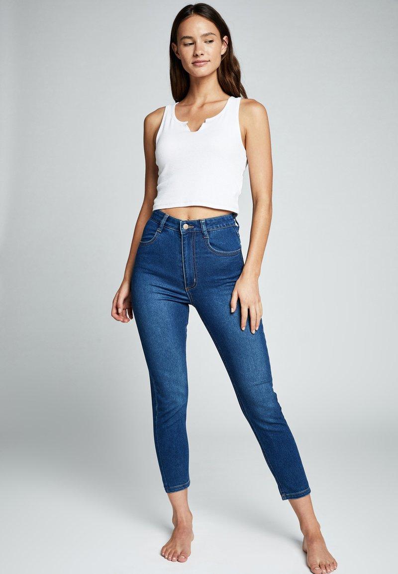 Cotton On Curve - Slim fit jeans - blue