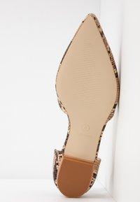 RAID Wide Fit - WIDE FIT CAROLINE - Ballet pumps - brown - 6