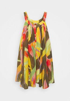 MINI DRESS - Day dress - yellow garden