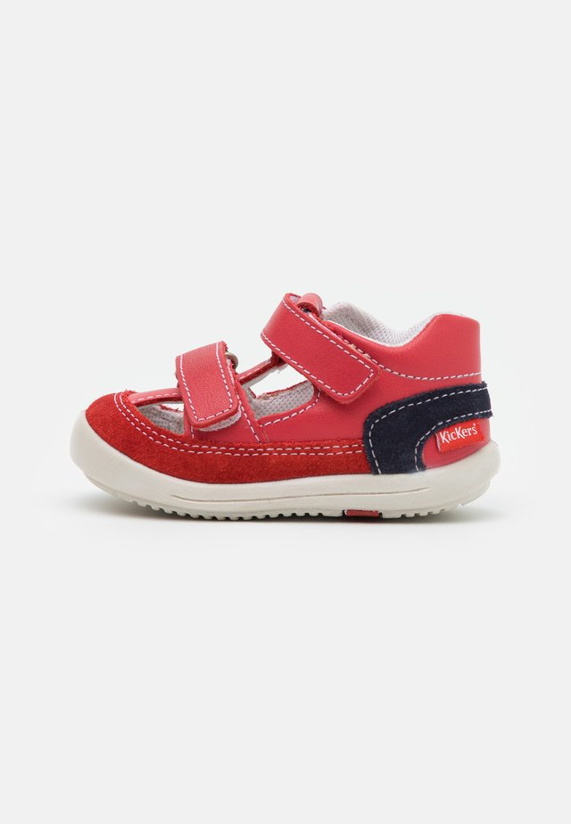 KID - Sandaalit nilkkaremmillä - rouge/marine
