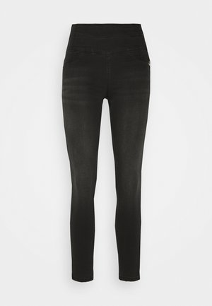 PANTALONI - Skinny džíny - washed deep black