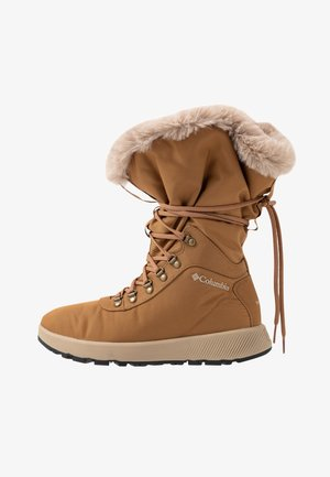SLOPESIDE VILLAGE OMNI-HEAT - Winter boots - elk/autumn orange