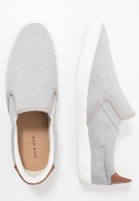 Pier One - UNISEX - Slip-ons - grey - 1