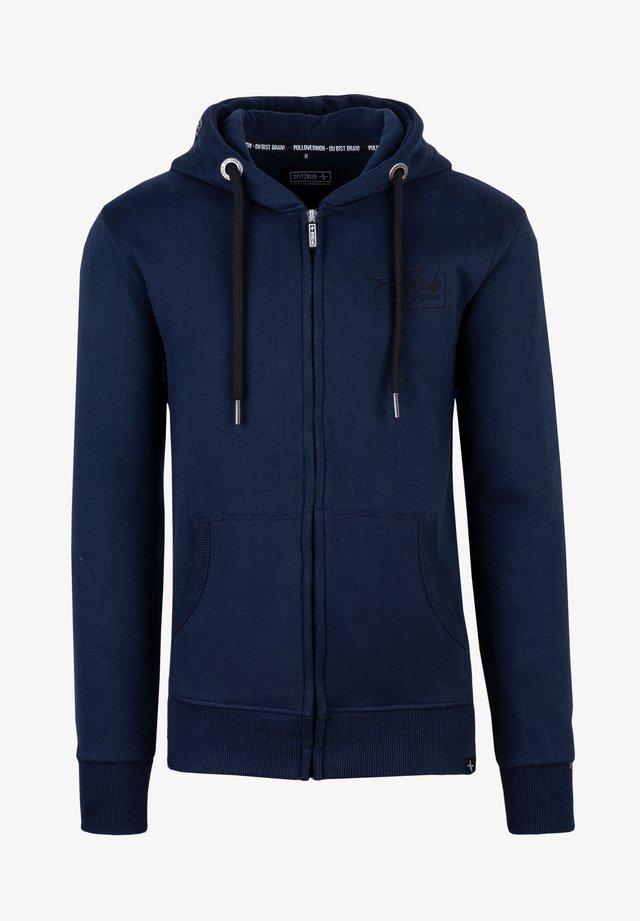 LENNY - Zip-up hoodie - blau