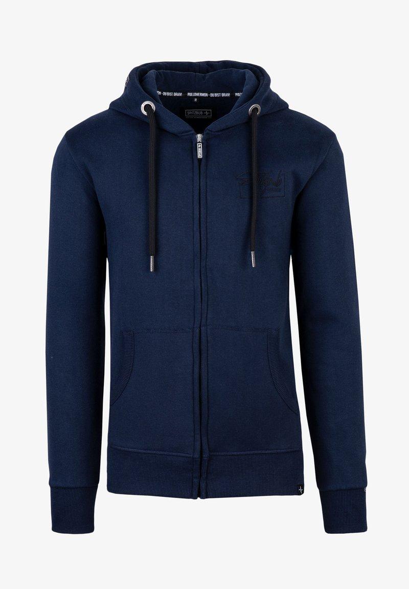 Spitzbub - LENNY - Zip-up sweatshirt - blau