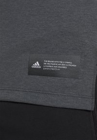 adidas Performance - TECH TEE - Basic T-shirt - black - 4