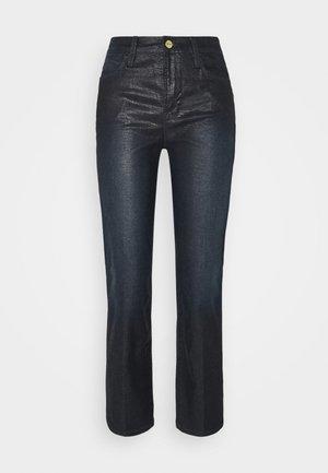 LE HIGH LIZARD COATED - Jeans a sigaretta - indigo