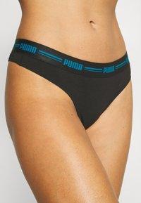 Puma - WOMEN 2 PACK - Thong - blue/black - 5