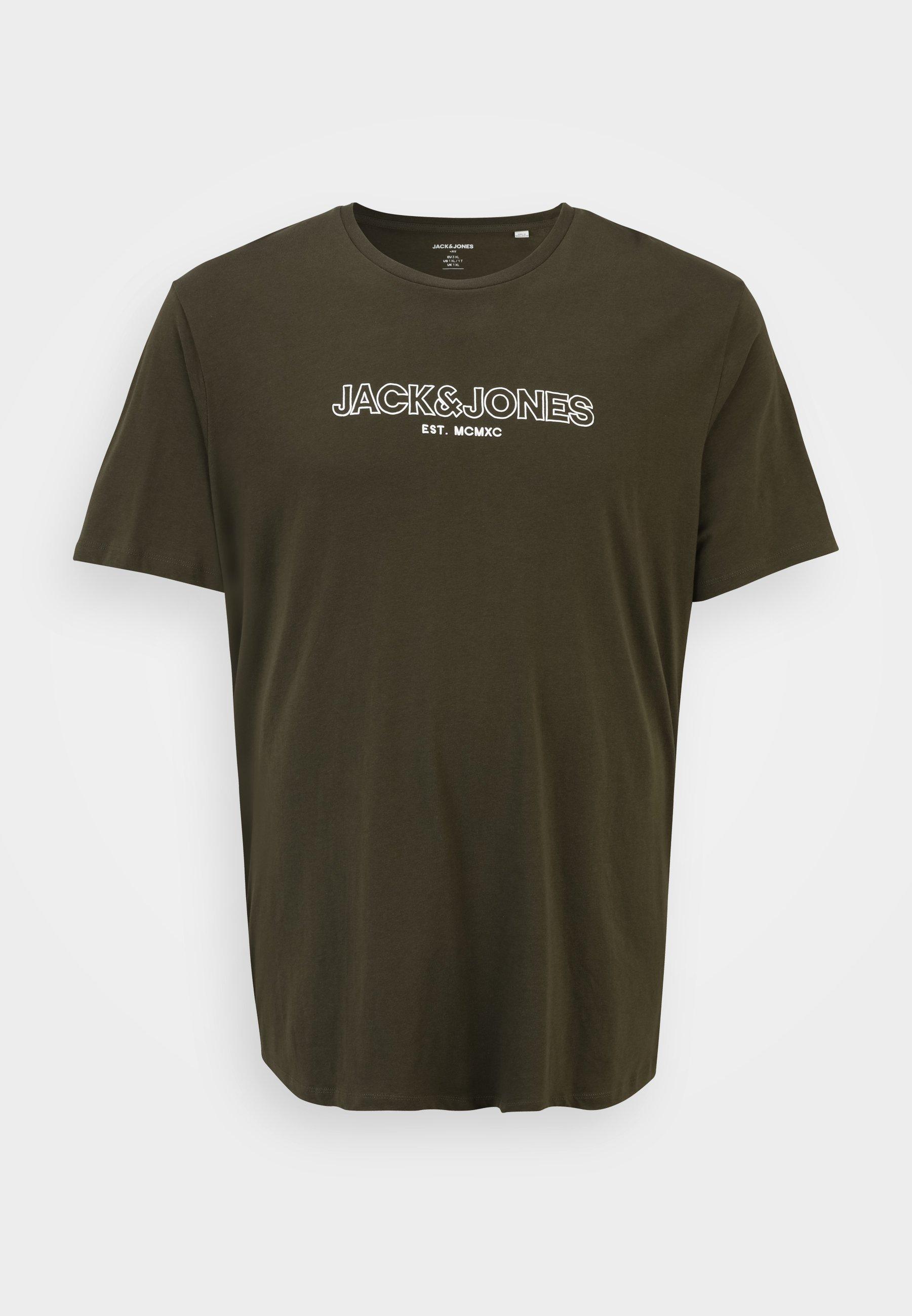 Homme JJBANK TEE CREW NECK  - T-shirt imprimé