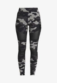 Urban Classics - TECH - Leggings - Trousers - grey - 3
