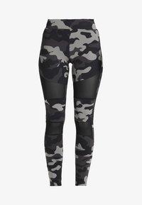 TECH - Leggings - Trousers - grey