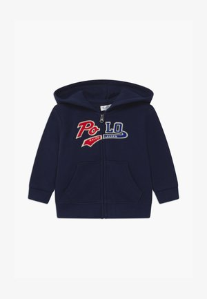 HOOD - veste en sweat zippée - cruise navy