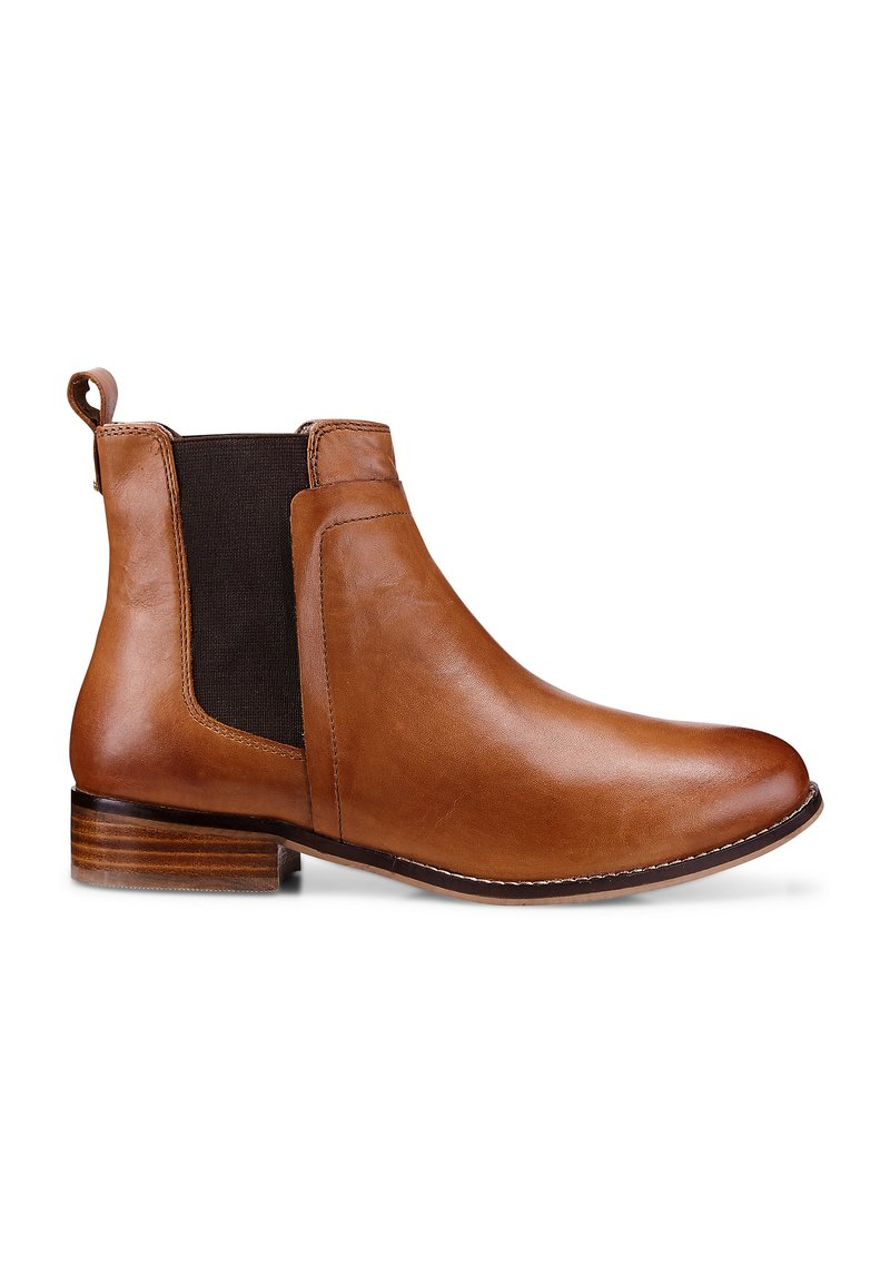 COX - Ankle boots - hellbraun