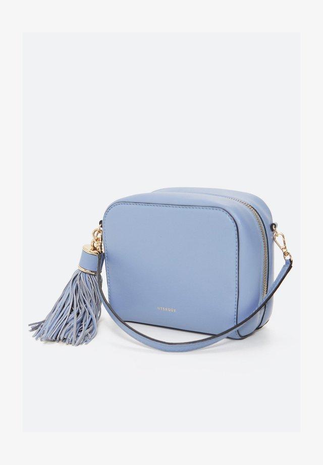 MIT POMPON - Sac bandoulière - light blue