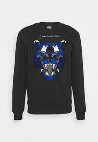 Kings Will Dream - DEMON - Fleece jumper - black/ gold - 4