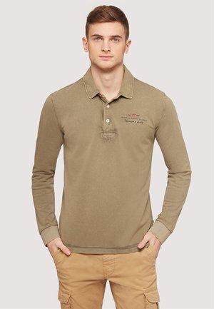 ELBAS LONG SLEEVE NEW - Poloshirt - khaki