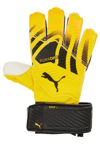 Puma - ONE GRIP - Goalkeeping gloves - ultra yellow/black/white - 1