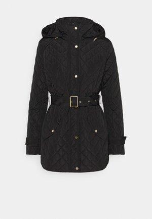 INSULATED COAT - Cappotto invernale - black