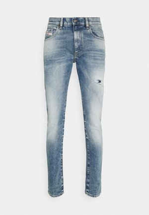STRUKT - Jean slim - medium blue