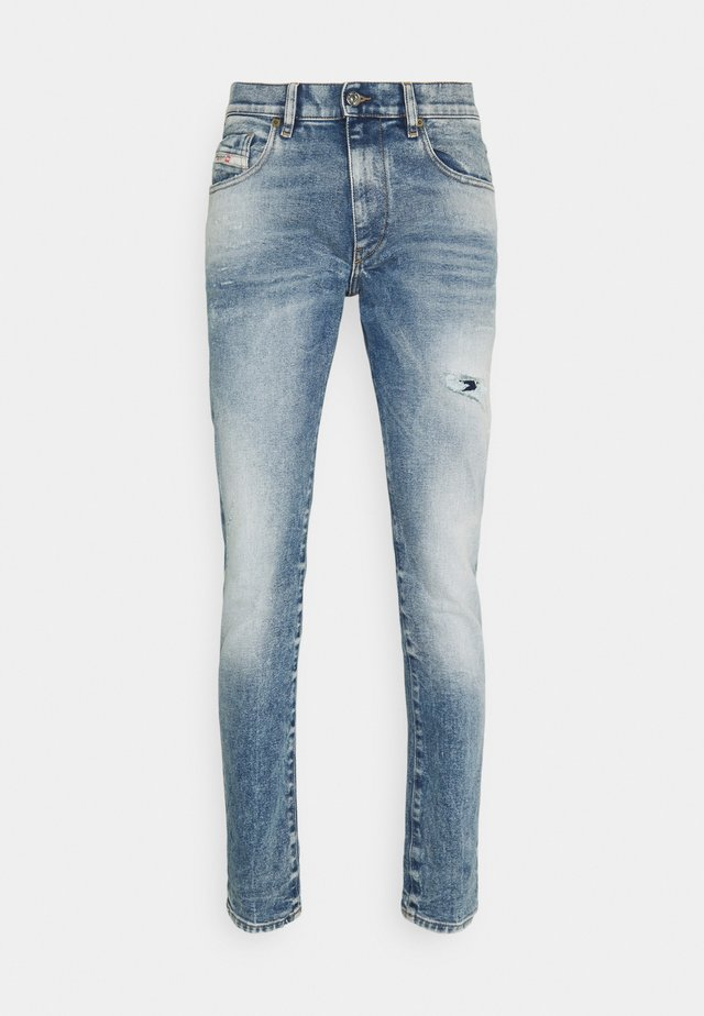 STRUKT - Jean slim - medium blue