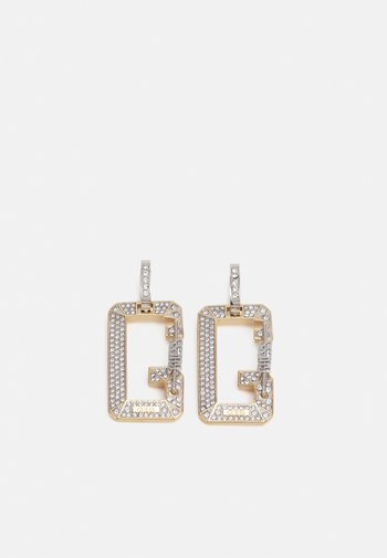 SNAP - Earrings - silver-coloured