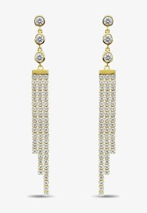 ZIRKONIA - Earrings - gelbgold