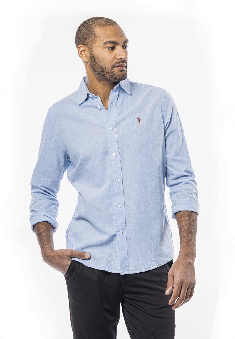 U.S. Polo Assn. - BOLT - Koszula biznesowa - placid blue