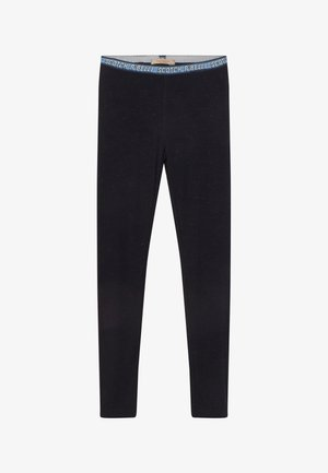 LUREX BRANDED WAISTBAND - Leggings - Trousers - night