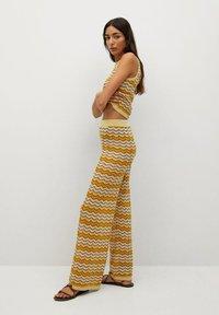 Mango - Trousers - mosterd - 3