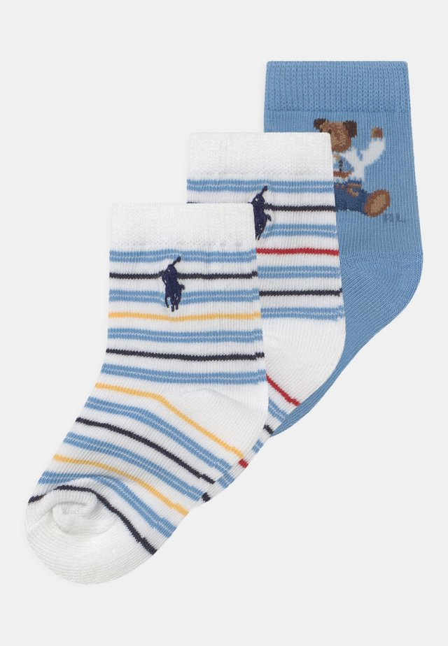 BEAR 3 PACK - Socks - blue