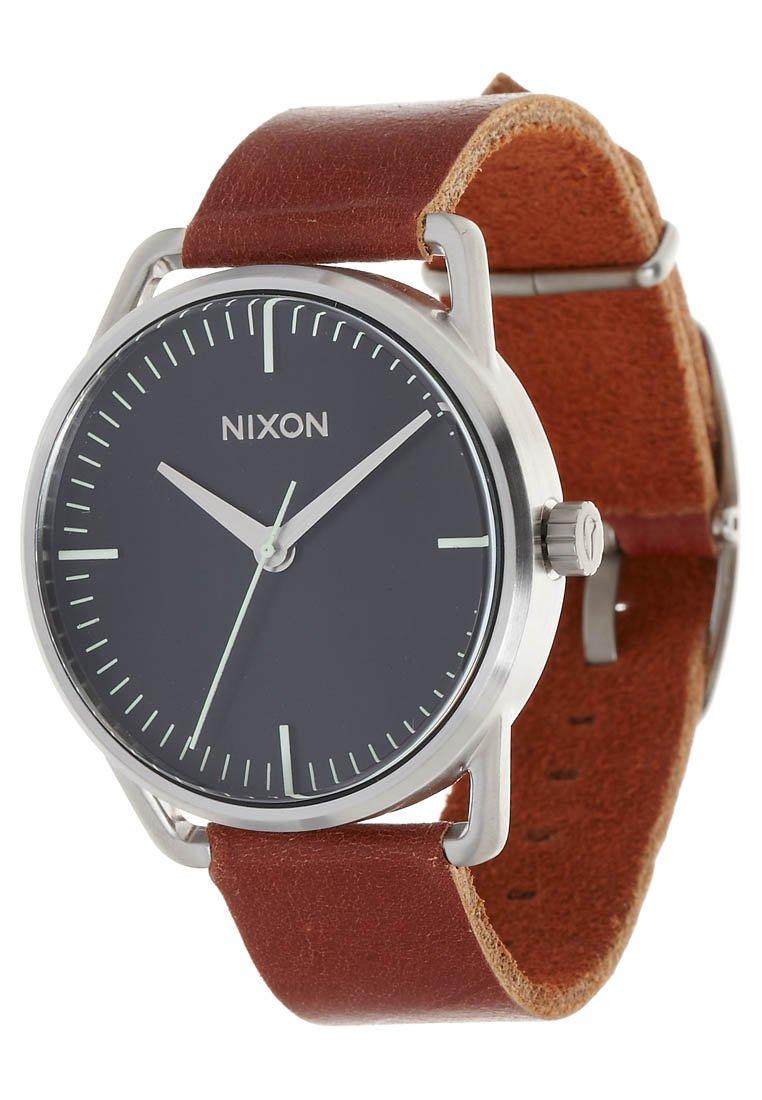 Nixon - MELLOR - Klocka - black/saddle