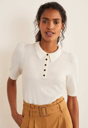 KEMSLEY  - Polo shirt - naturweiß