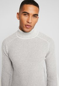 Pier One - Strickpullover - 111 - mottled light grey - 3