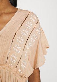 YAS - YASFANNI DRESS  - Maxi dress - toasted almond - 4