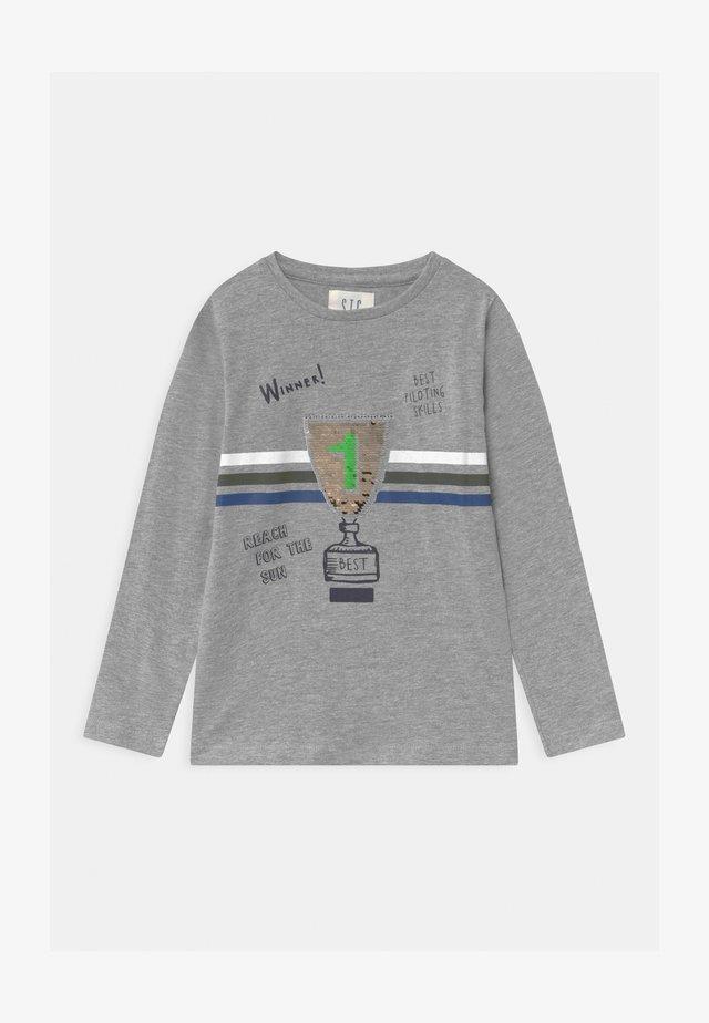 KID - Langarmshirt - grey melange