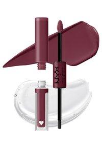 Nyx Professional Makeup - SHINE LOUD HIGH PIGMENT LIP SHINE - Lip gloss - never basic - 2