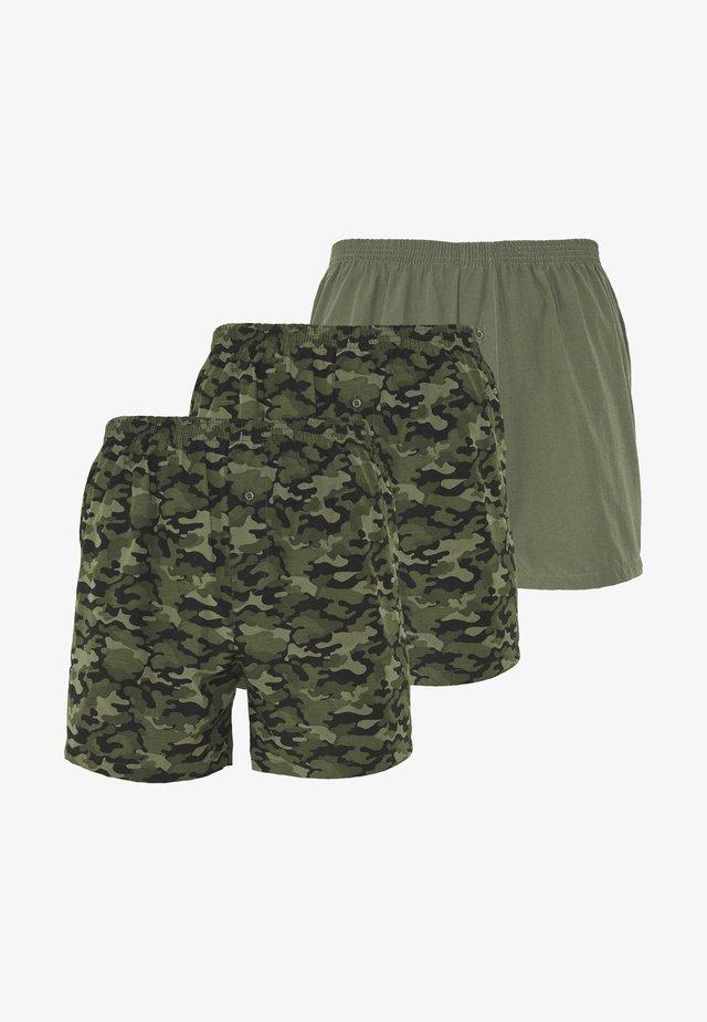 3 PACK - Boxer shorts - khaki