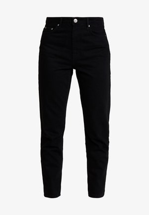 DAGNY HIGHWAIST - Jeans Tapered Fit - black