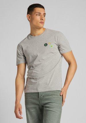 SUMMER LOGO - T-shirt med print - grey mele