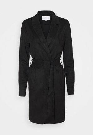 VIJAKY LONG COAT  - Trenchcoat - black