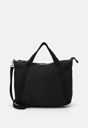 GWENETH PARTIAL CROSS - Tote bag - black