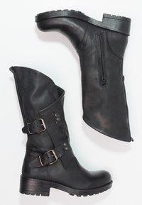 Coolway - ALIDA - Cowboy/Biker boots - black - 2