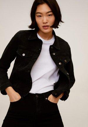 VICKY - Džínová bunda - black denim