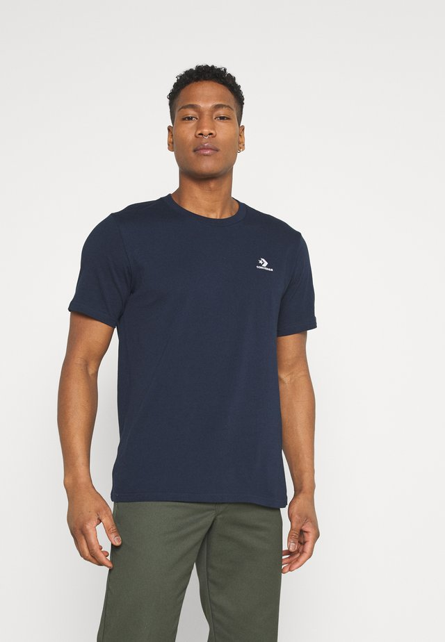 MENS STAR TEE - Basic T-shirt - obsidian