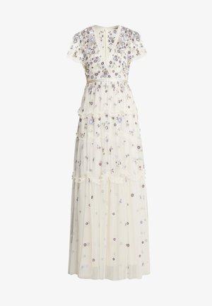 PRARIE FLORA GOWN - Společenské šaty - champagne