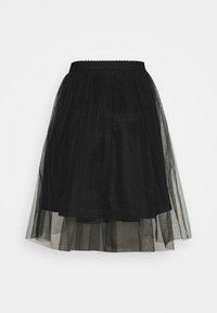 ONLY - ONLGLAMMIE OVERKNEE SKIRT - Áčková sukně - black - 1