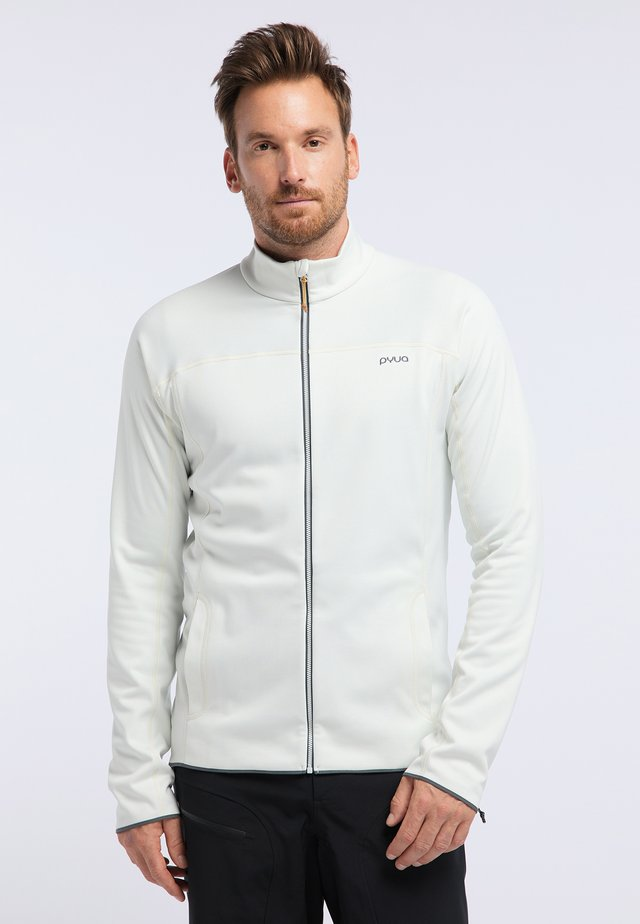PRIDE - Training jacket - foggy white