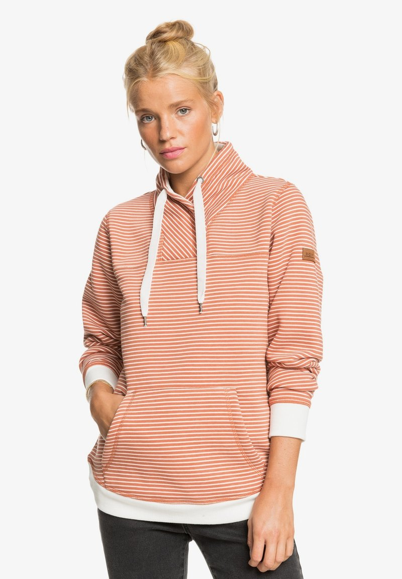 Roxy - BOAT TRIP STRIPES - Sudadera - auburn me stripes