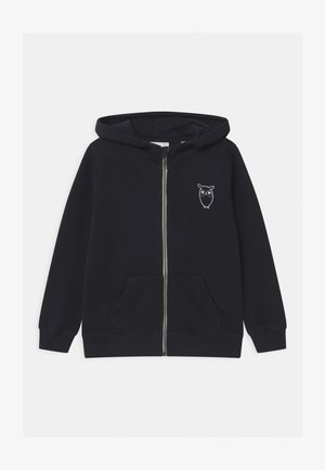 LOTUS OWL HOOD - Zip-up hoodie - total eclipse
