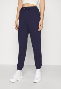 Even&Odd - Regular Fit Jogger - Tracksuit bottoms - dark blue - 0